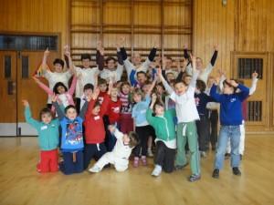 Little Wickets Team: Coaches & Kids circa March 2015