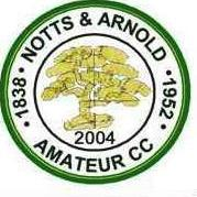 local cricket club notts & arnold amatuer cc logo