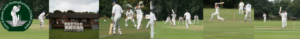 local cricket club montage of 6 images