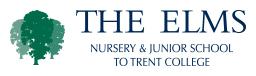 the elms nursery & junior school to trent college logo