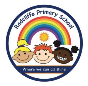 radcliffe primary school rainbow logo