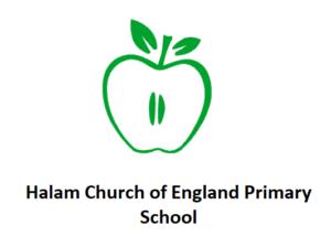 halam church of england primary school logo