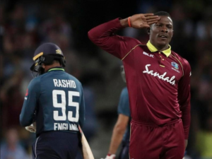sportsmanship west indies cottell saluting